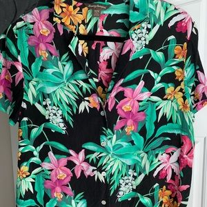 Tommy Bahama silk blouse